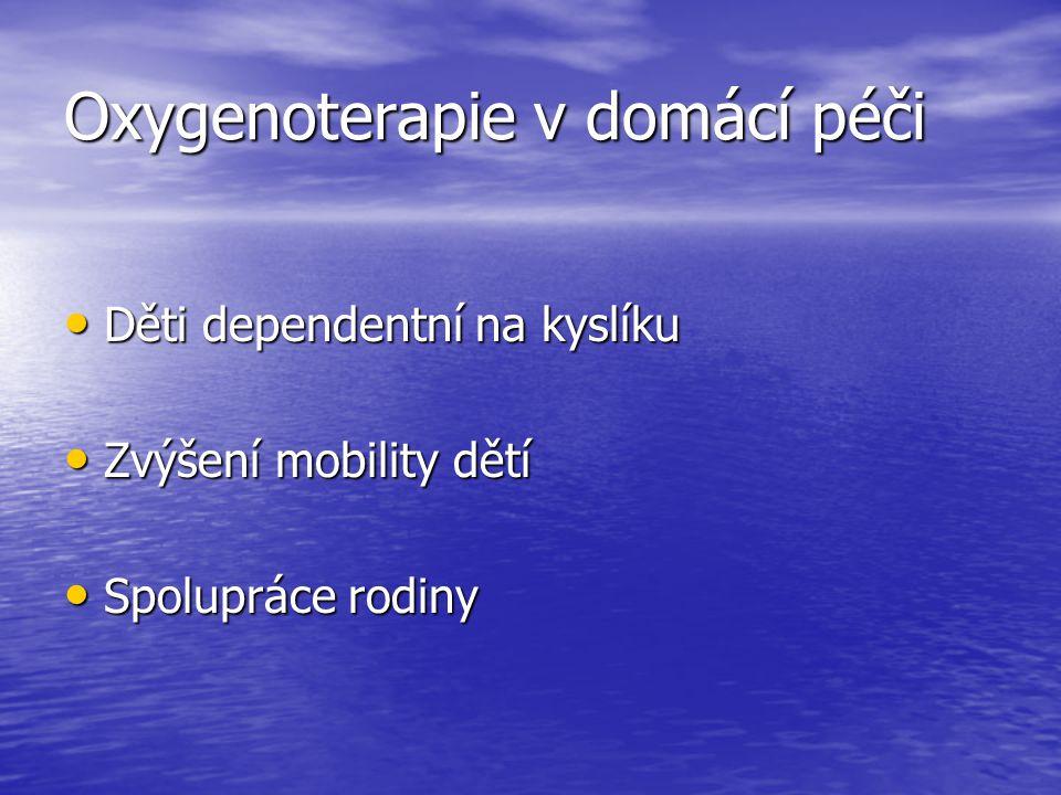 Oxygenoterapie v domácí péči