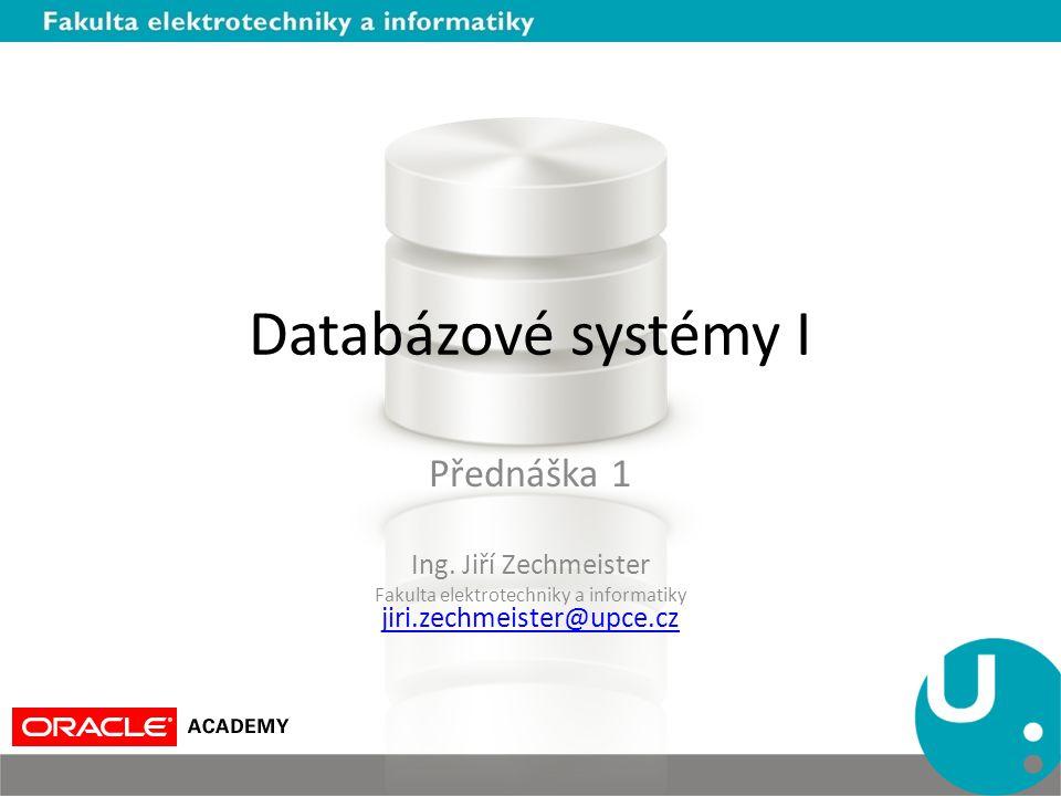 Fakulta elektrotechniky a informatiky jiri.zechmeister@upce.cz