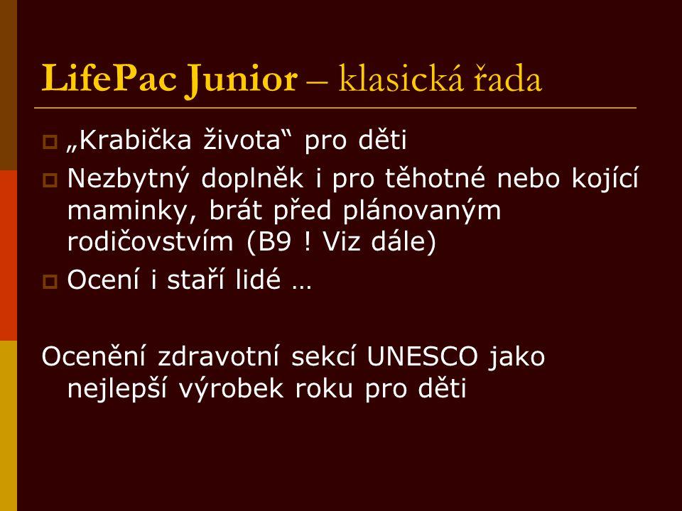LifePac Junior – klasická řada