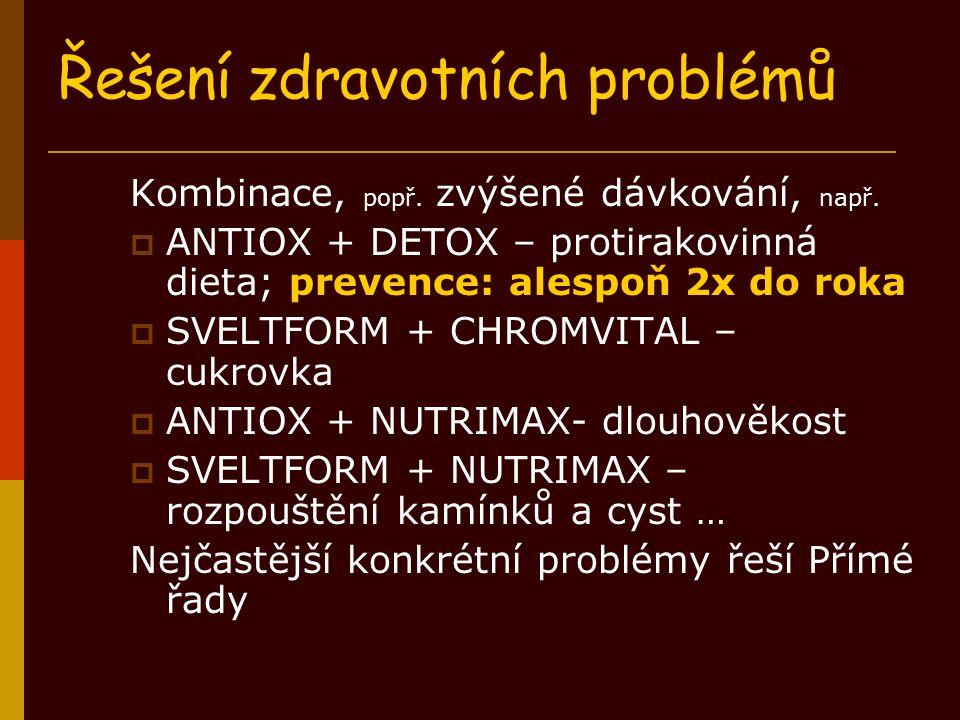Řešení zdravotních problémů