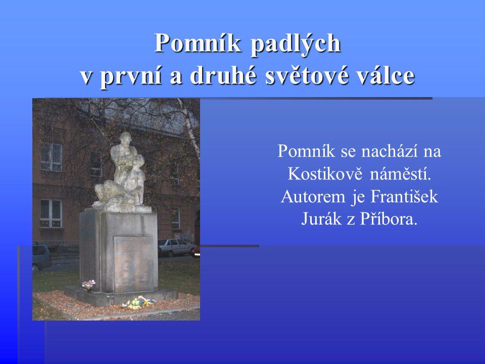 Pomník padlých v první a druhé světové válce