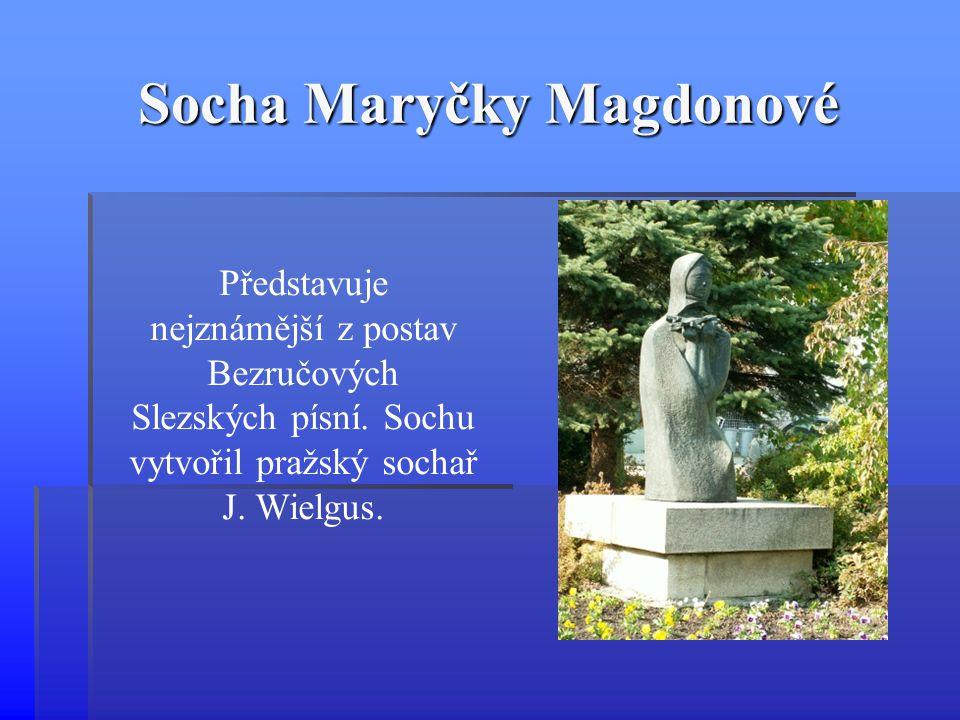 Socha Maryčky Magdonové