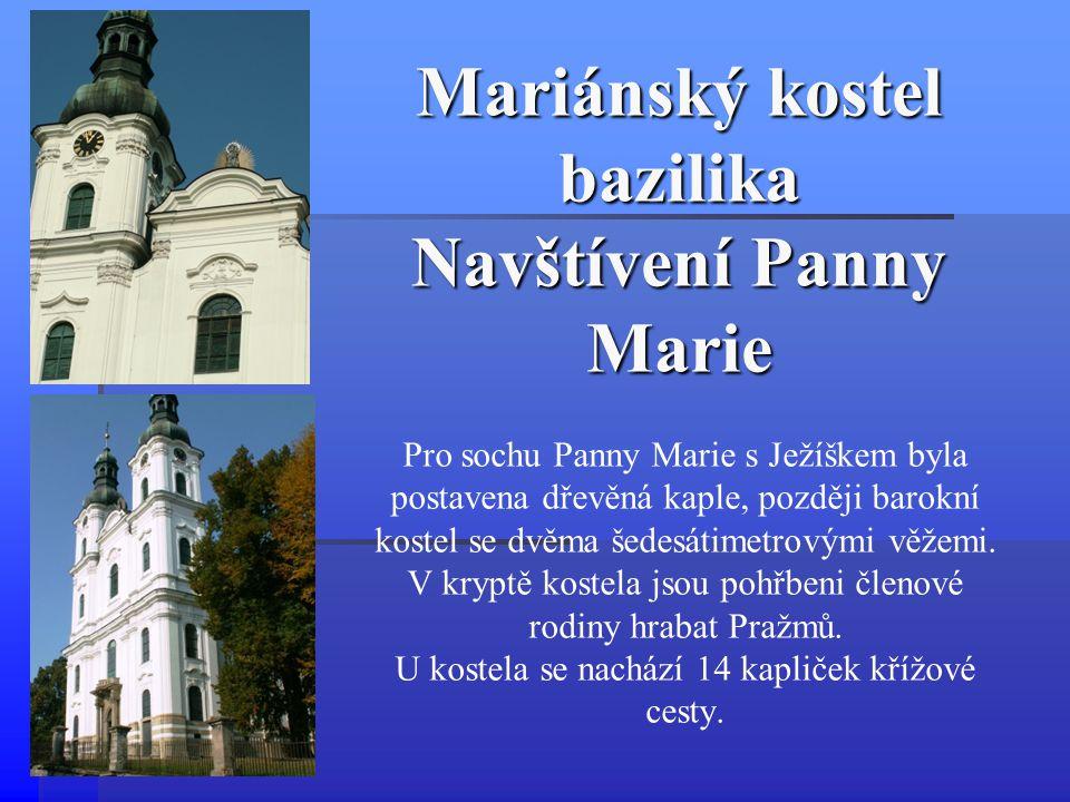 Mariánský kostel bazilika Navštívení Panny Marie