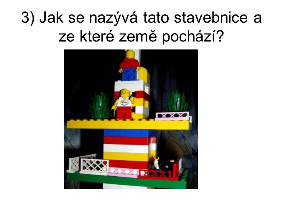 3) Jak se nazývá tato stavebnice a ze které země pochází
