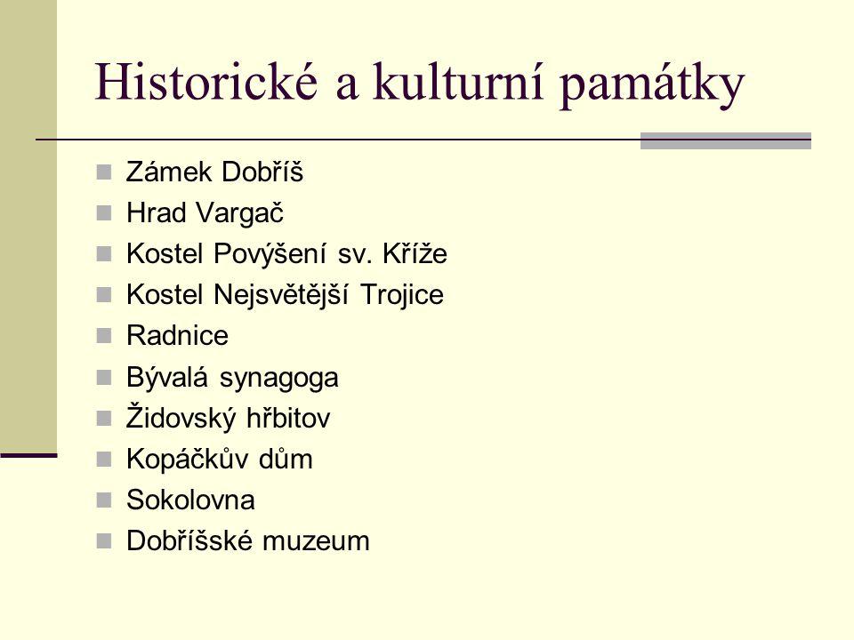 Historické a kulturní památky