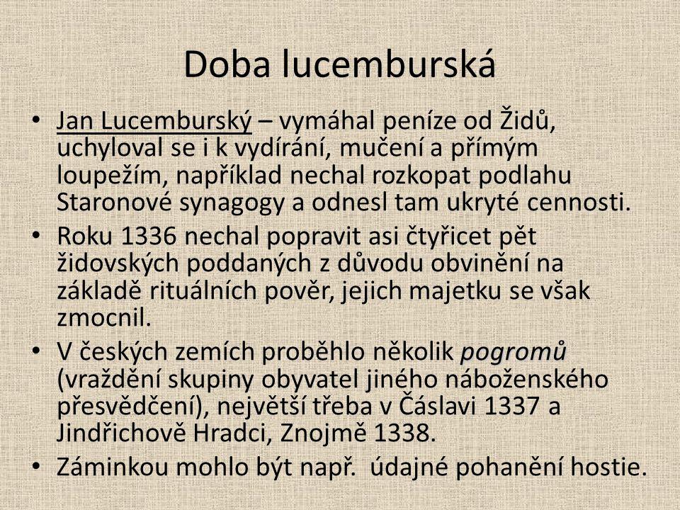 Doba lucemburská