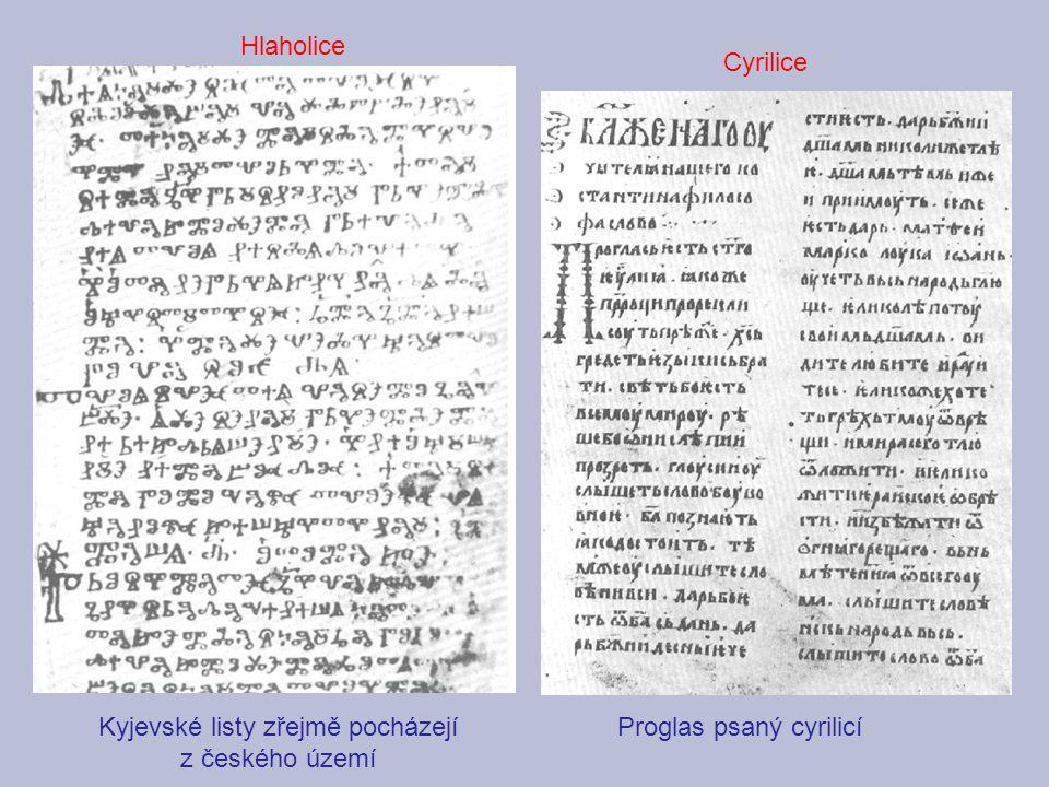 Kyjevské listy zřejmě pocházejí