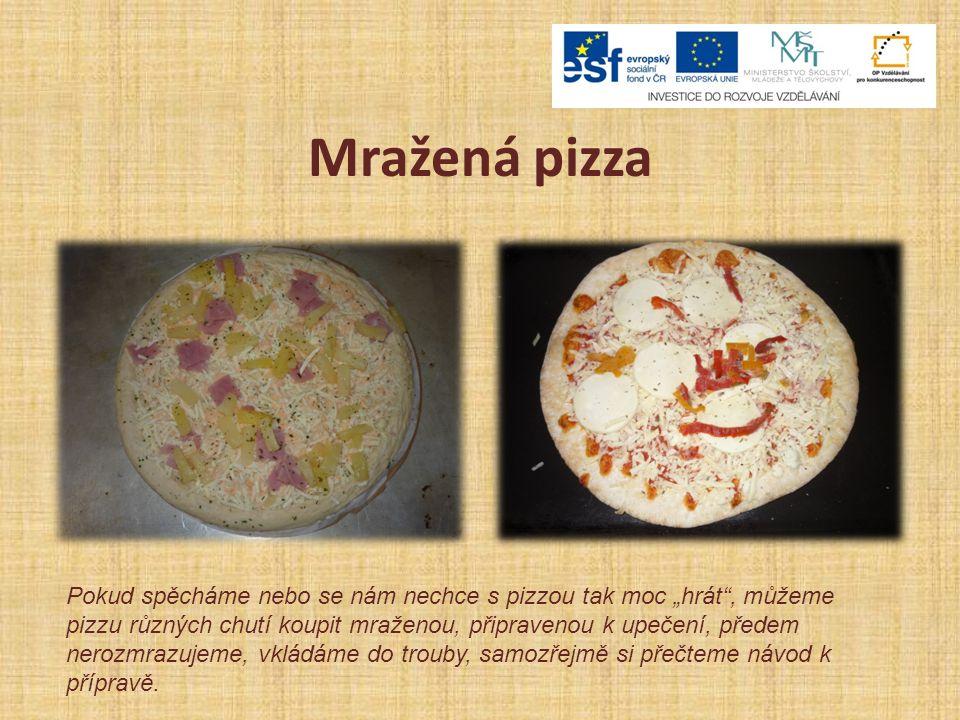 Mražená pizza