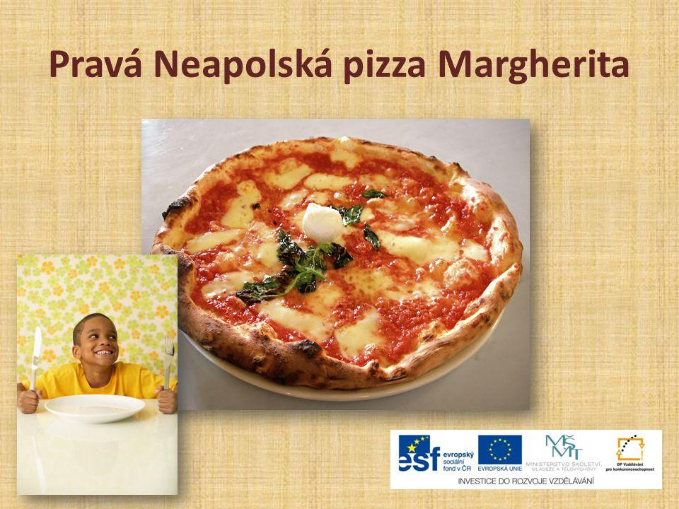 Pravá Neapolská pizza Margherita