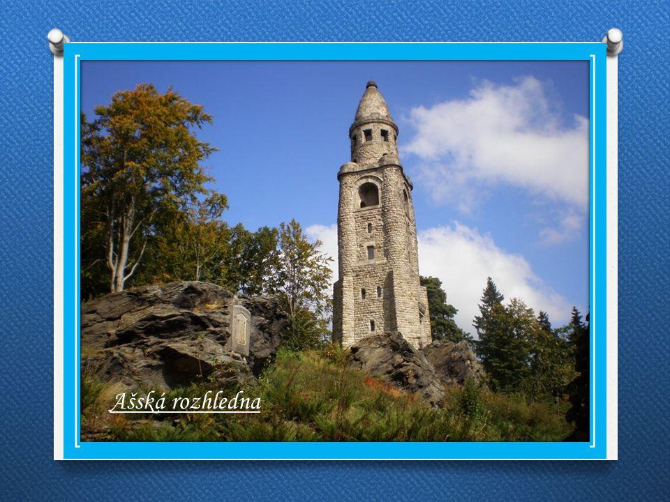 Památky Budova radnice Kostel sv.Mikuláše Ašská rozhledna