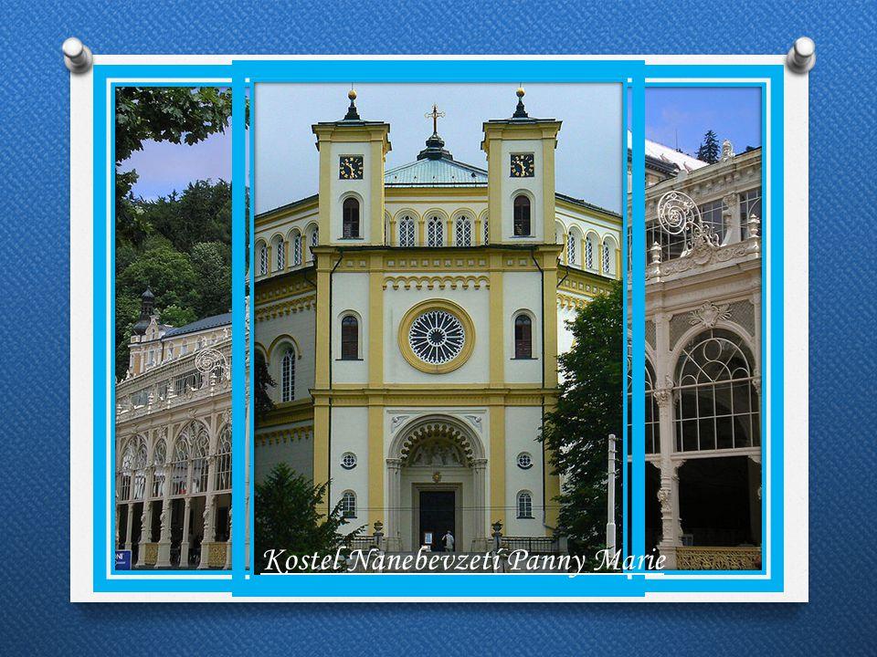 Památky Kolonáda Kostel Nanebevzetí Panny Marie