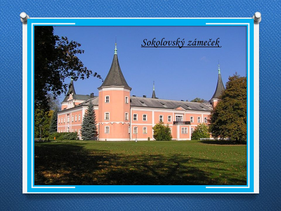 Památky Kostel sv.Jakuba Sokolovský zámeček