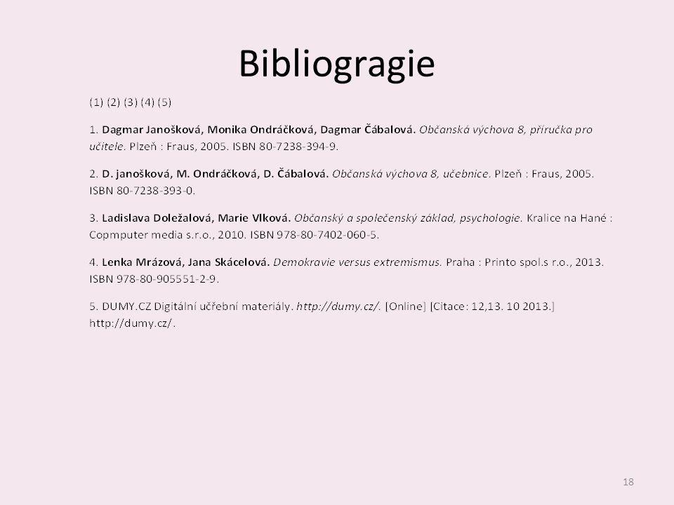 Bibliogragie