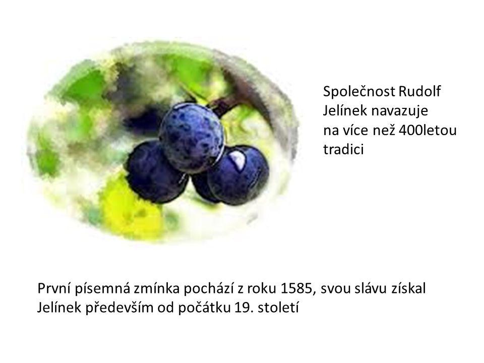 Společnost Rudolf Jelínek navazuje na více než 400letou tradici