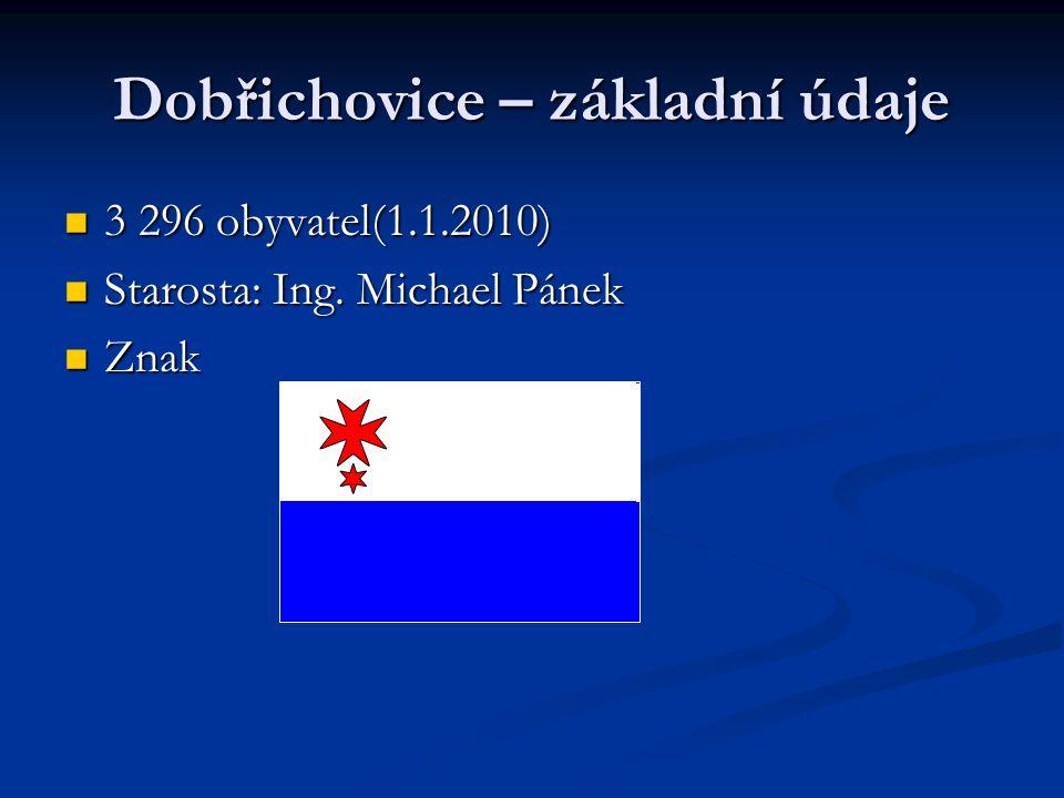 Dobřichovice – základní údaje