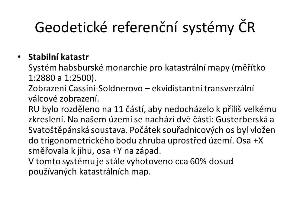 Geodetické referenční systémy ČR