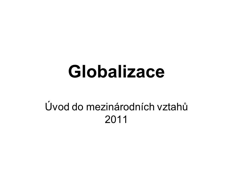 Úvod do mezinárodních vztahů 2011
