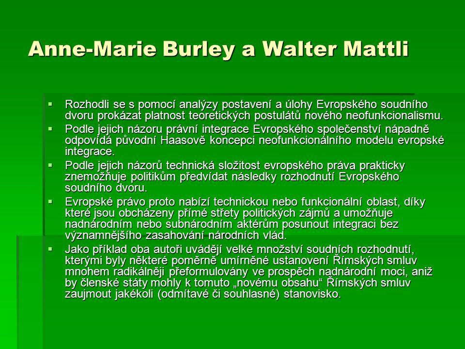 Anne-Marie Burley a Walter Mattli