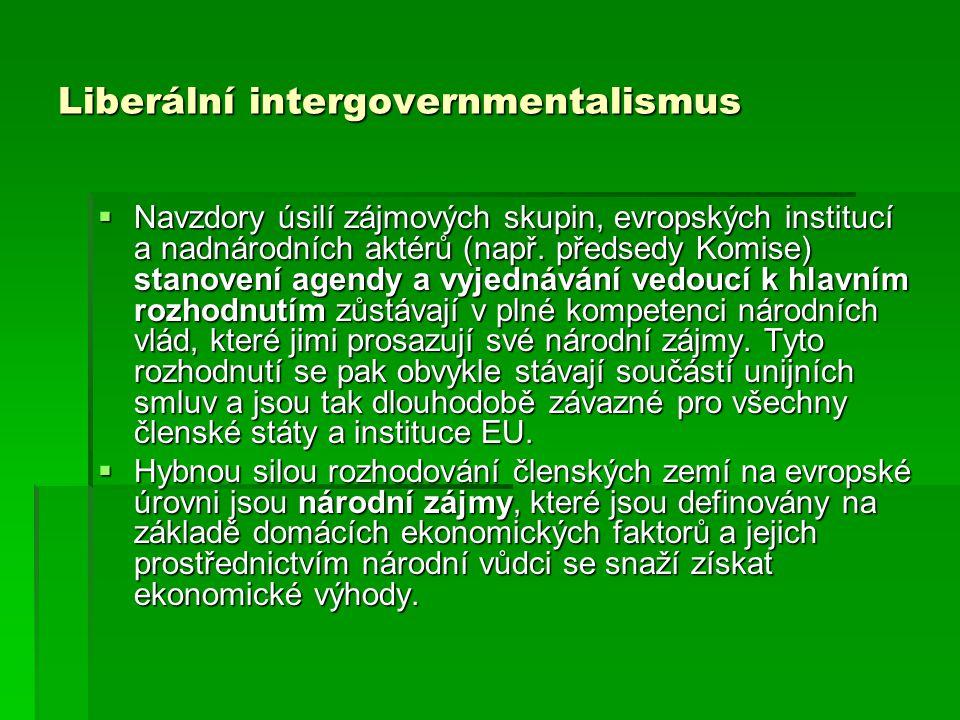 Liberální intergovernmentalismus