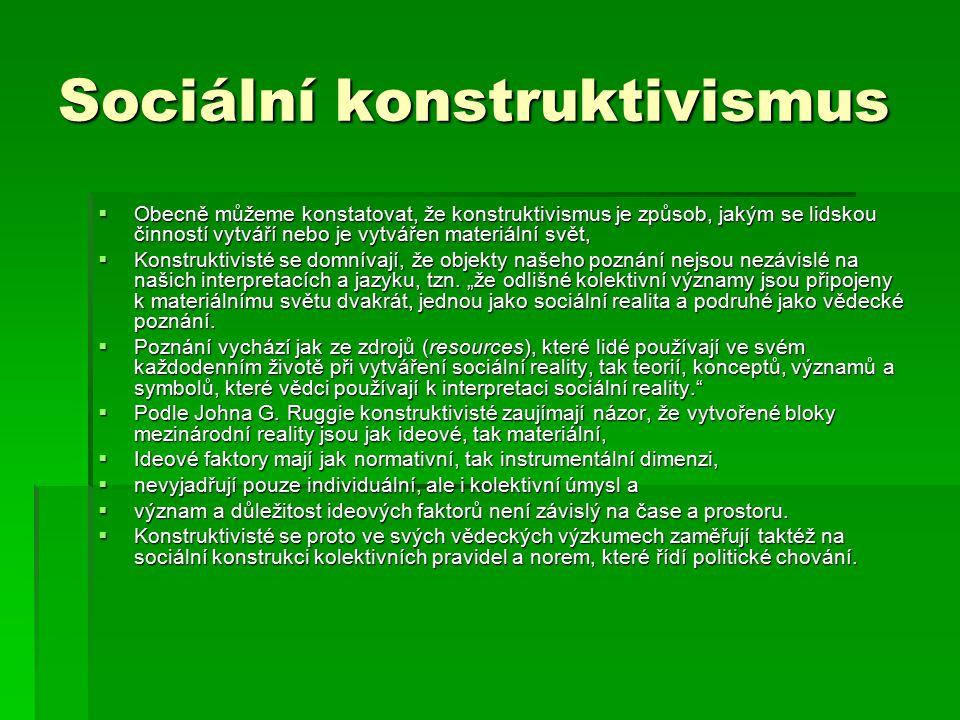 Sociální konstruktivismus