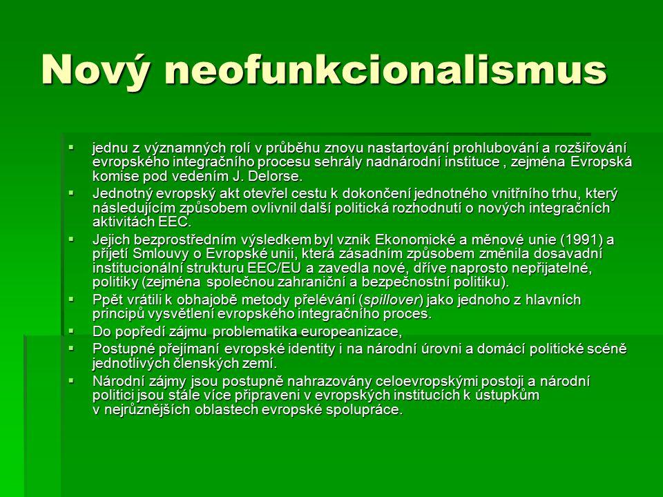 Nový neofunkcionalismus