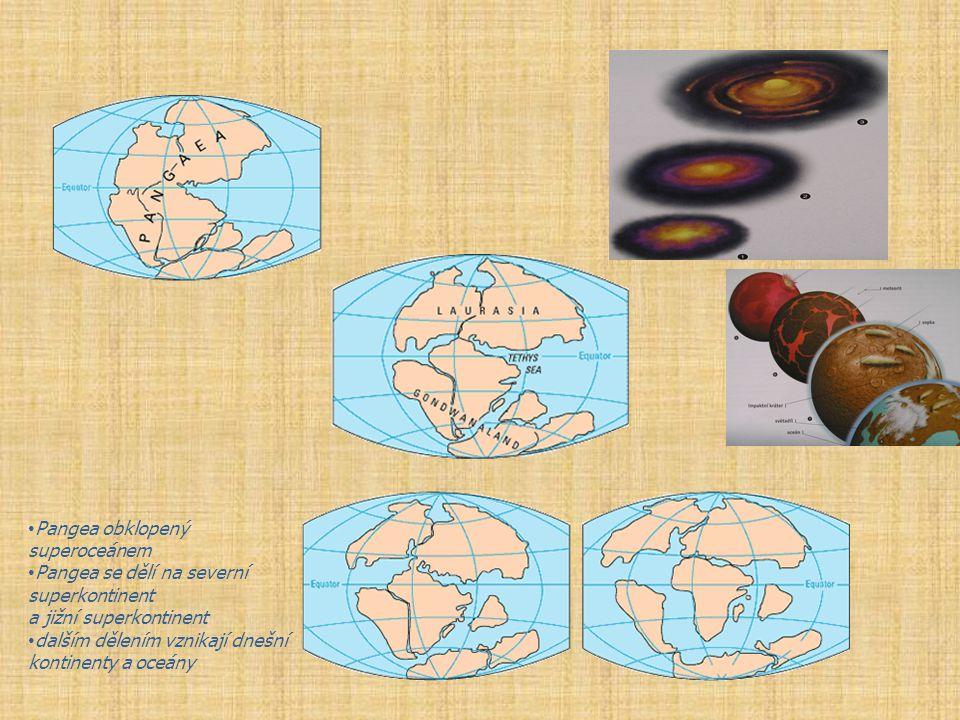 Pangea obklopený superoceánem
