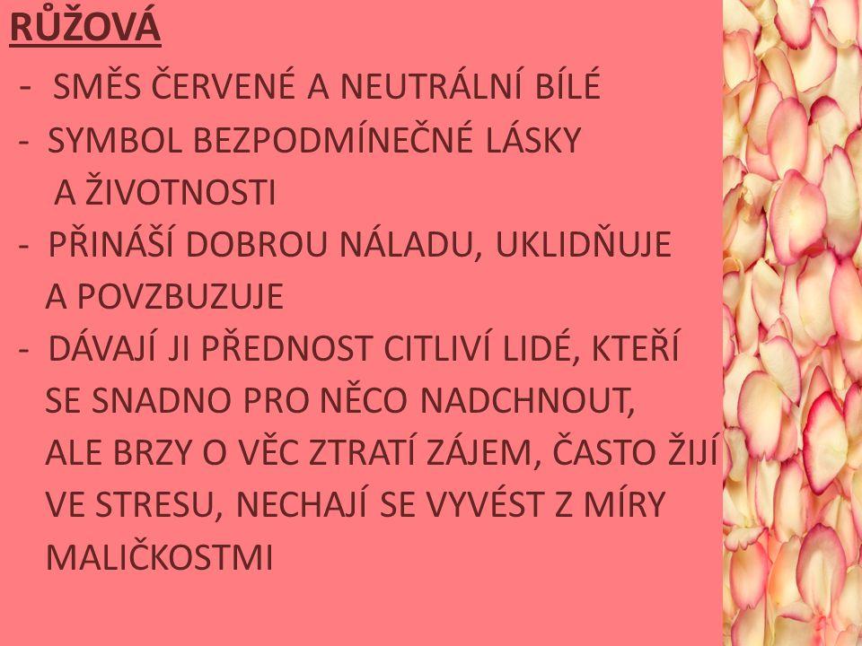 - SMĚS ČERVENÉ A NEUTRÁLNÍ BÍLÉ
