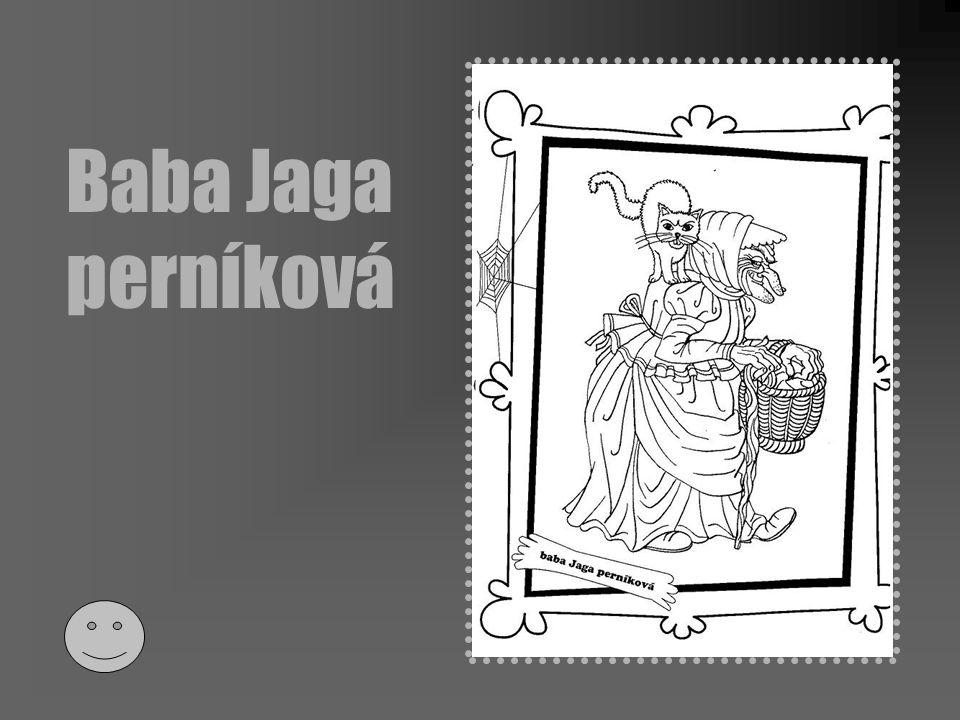 Baba Jaga perníková