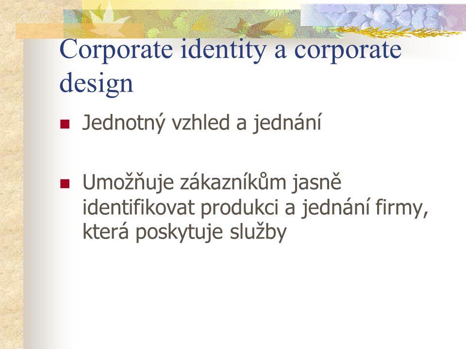 Corporate identity a corporate design