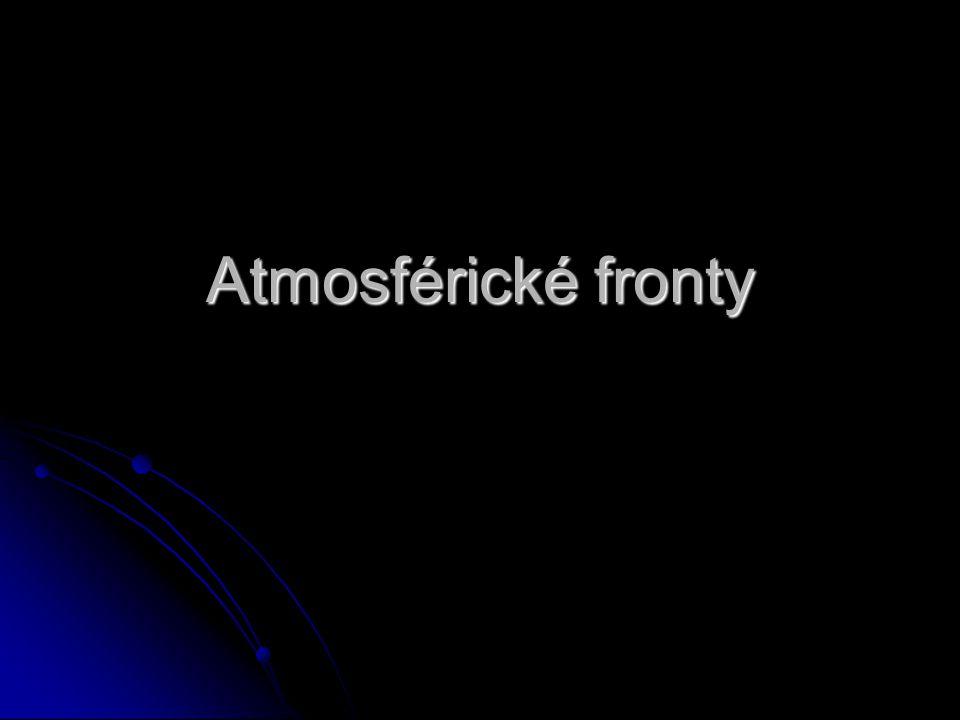 Atmosférické fronty