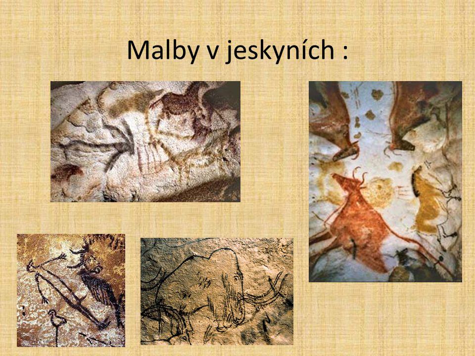 Malby v jeskyních :