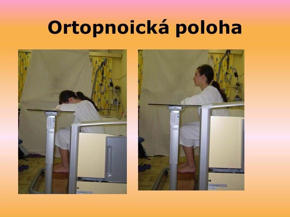 Ortopnoická poloha