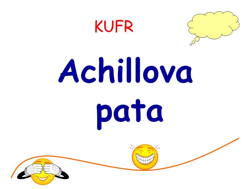 KUFR Achillova pata