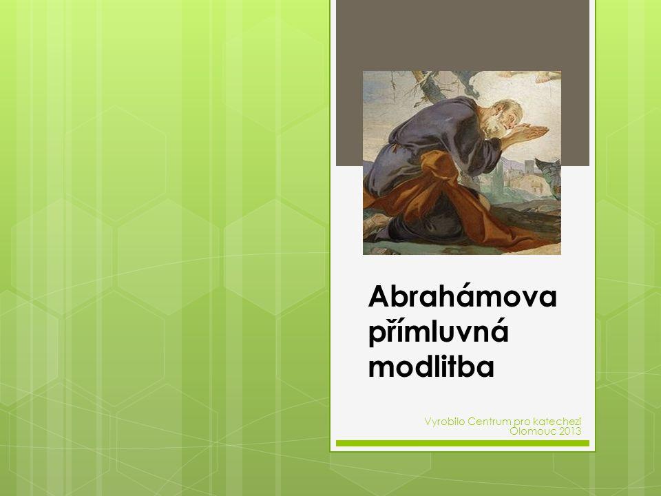 Abrahámova přímluvná modlitba