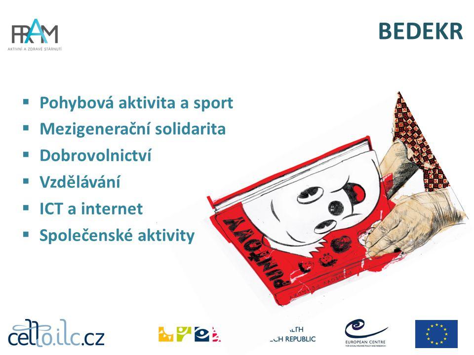 BEDEKR Pohybová aktivita a sport Mezigenerační solidarita
