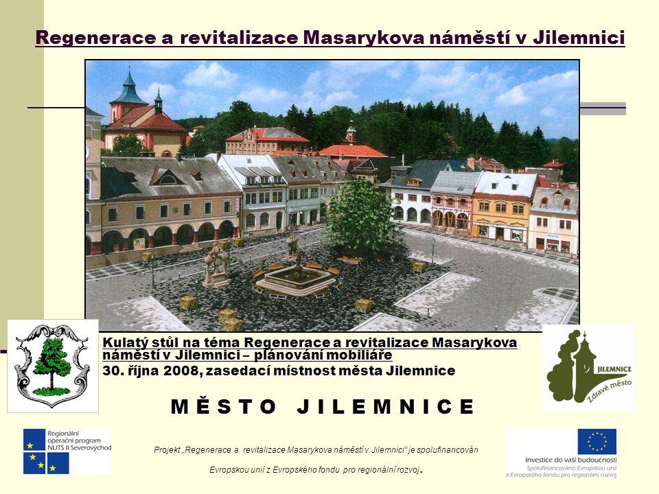 Regenerace a revitalizace Masarykova náměstí v Jilemnici