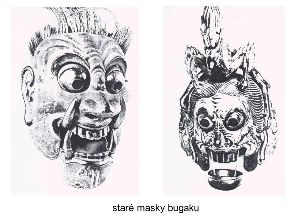 staré masky bugaku