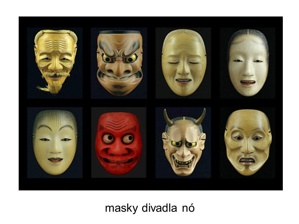 masky divadla nó