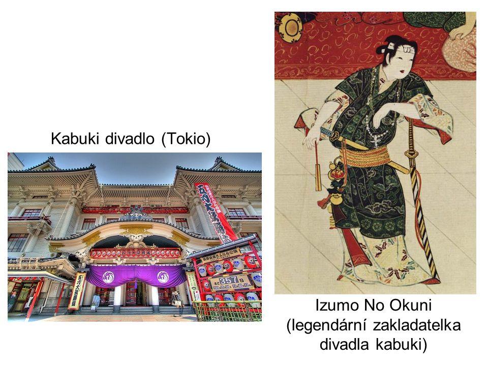 Izumo No Okuni (legendární zakladatelka divadla kabuki)