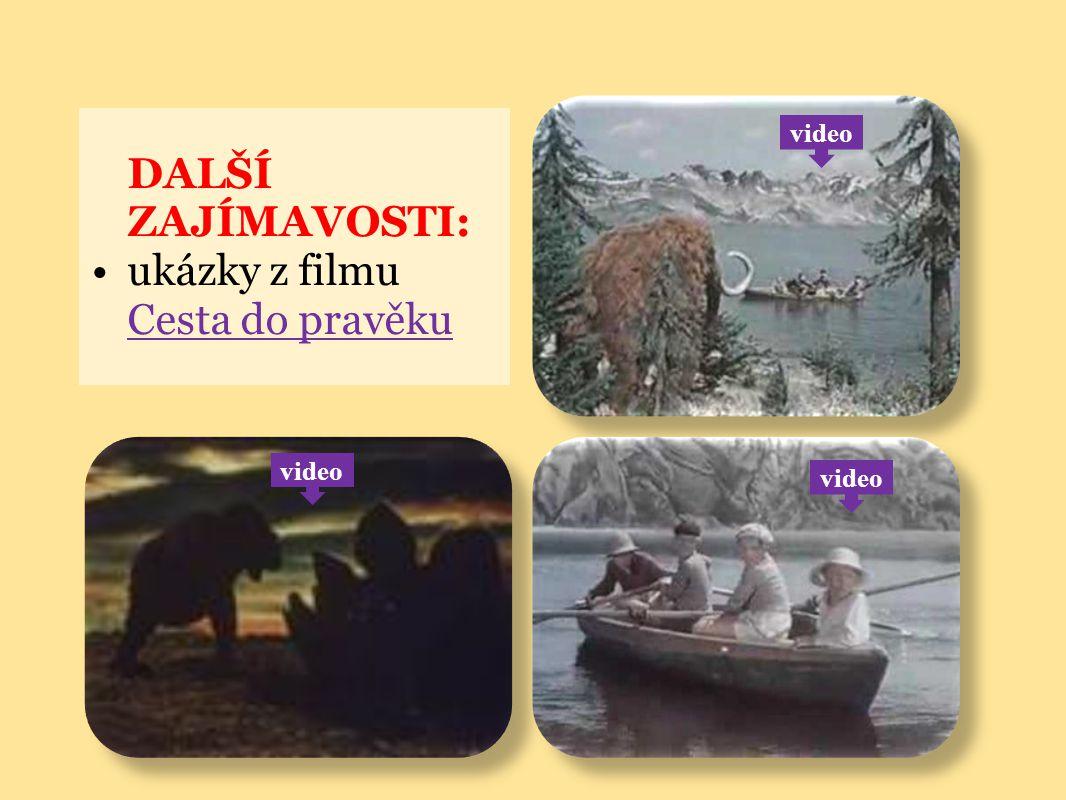 ukázky z filmu Cesta do pravěku