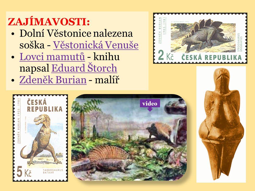 Dolní Věstonice nalezena soška - Věstonická Venuše