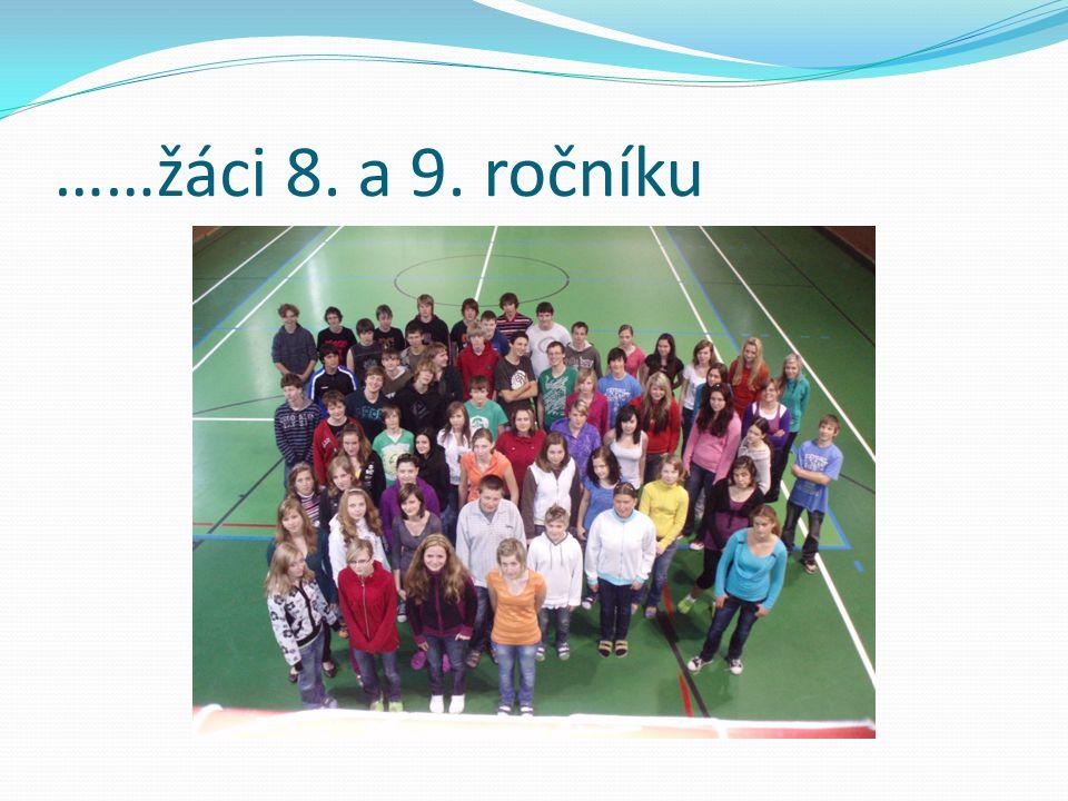 ……žáci 8. a 9. ročníku