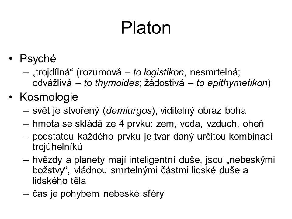 Platon Psyché Kosmologie