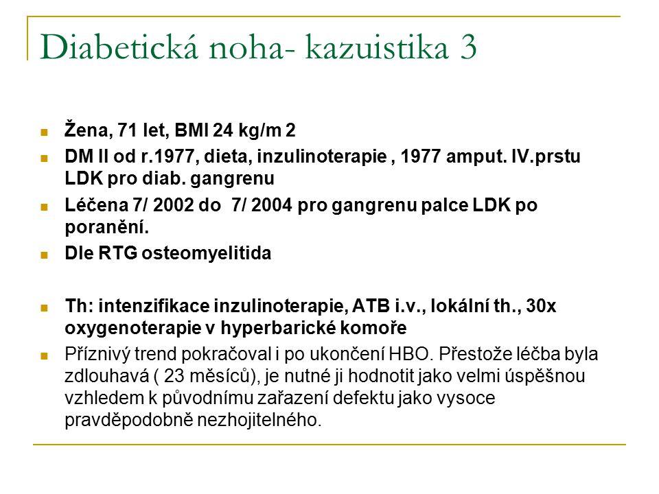 Diabetická noha- kazuistika 3