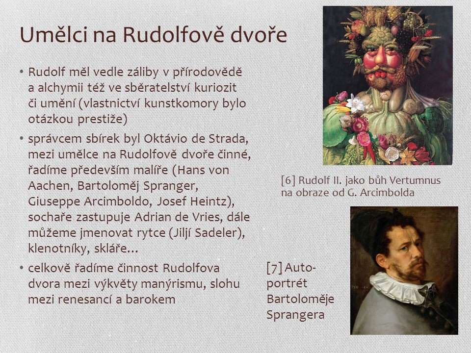 Umělci na Rudolfově dvoře
