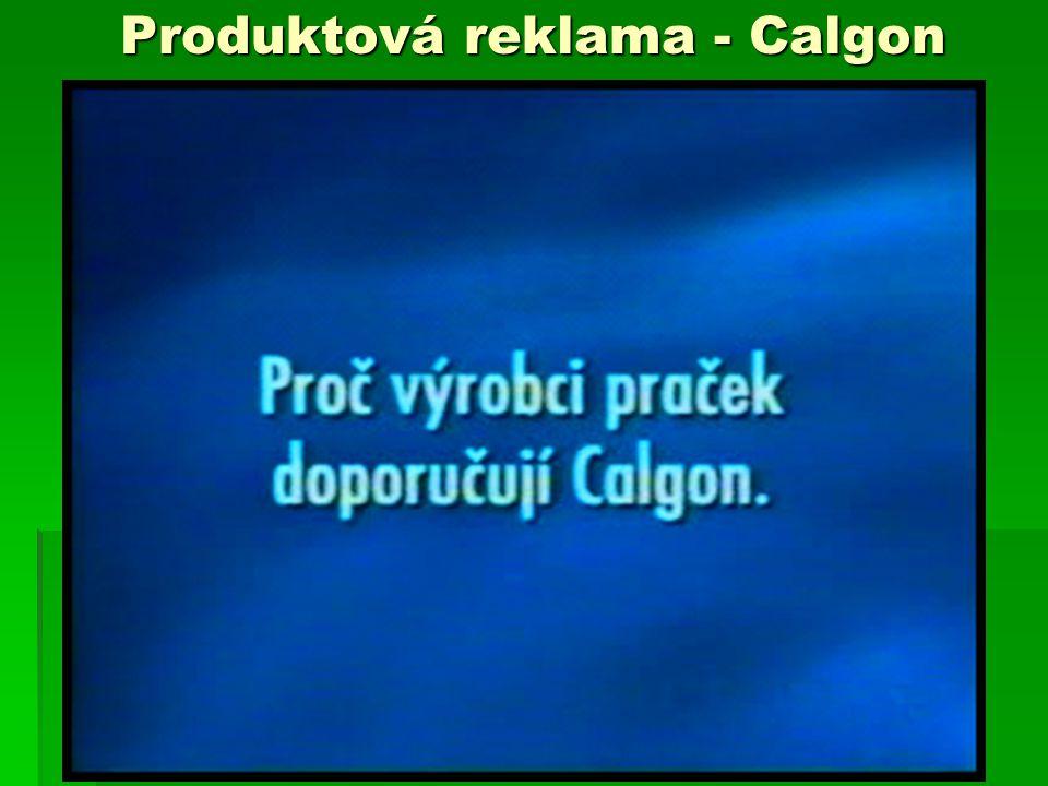 Produktová reklama - Calgon