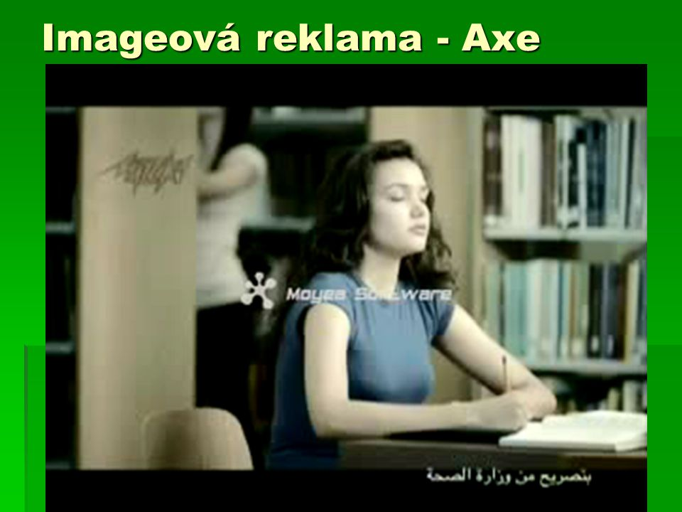 Imageová reklama - Axe