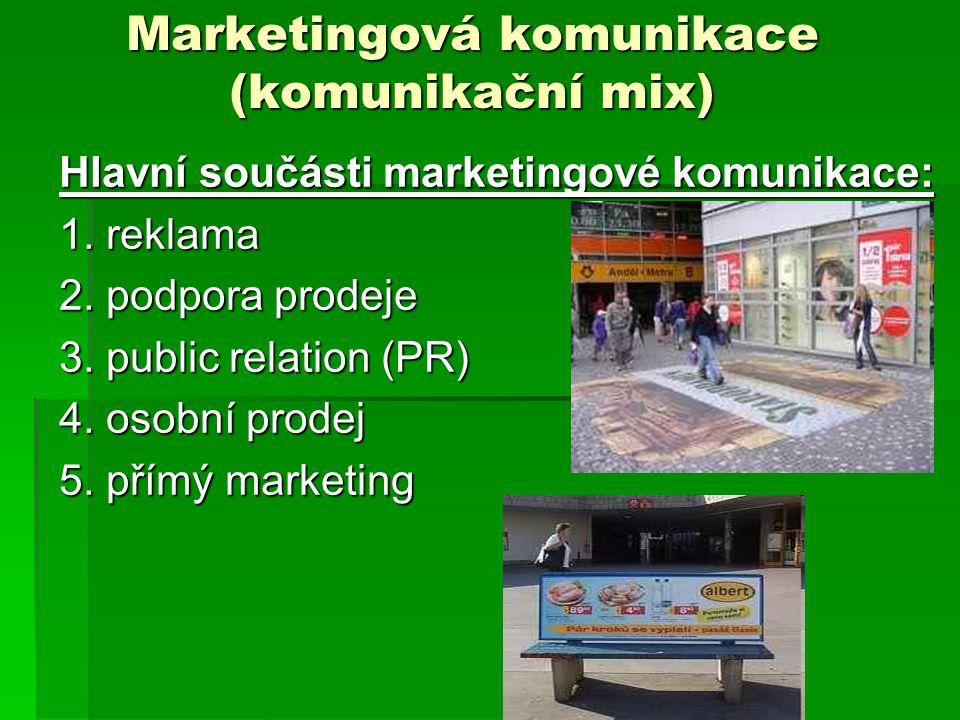 Marketingová komunikace (komunikační mix)