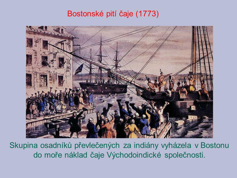 Bostonské pití čaje (1773)
