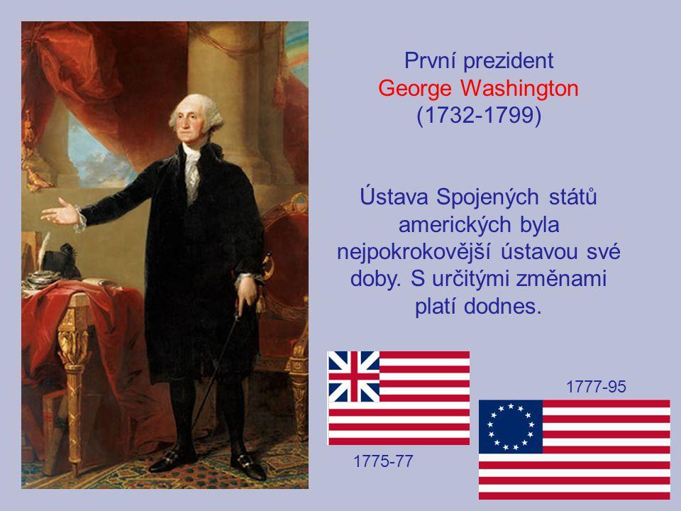 První prezident George Washington (1732-1799)